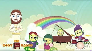 Peter And John Went To Pray I Popular Bible RhymesI Bible Songs For Children| Holy Tales Bible Songs