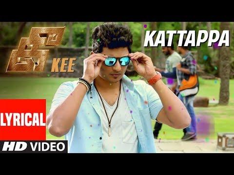 Xxx Mp4 Kattappa Lyrical Video Song Kee Tamil Songs Jiiva Nikki Anaika Rj Balaji Krishna Prasad 3gp Sex
