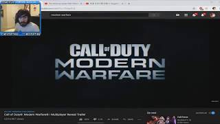 Penguinz0 Reacts to the Call Of Duty Modern Warfare Gameplay reveal Trailer