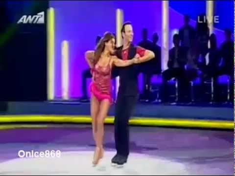 Stamatina Tsimtsili 2o Live Dancing On Ice Greece