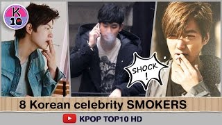 [SHOCK] 8 Korean Celebrity Actor and Idol smokers that might shock you