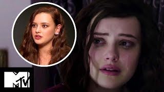 13 Reasons Why – Katherine Langford On Hannah's Emotional Death Scene BEHIND THE SCENES | MTV Movies
