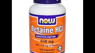 What Are The Health Benefits of Betaine HCL?