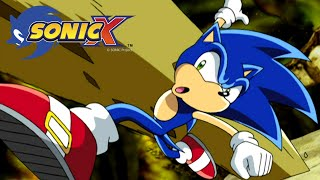 SONIC X Ep66 - Clash in the Cloister
