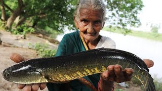 Koramenu Fish Recipe | Murrel Fish curry By Granny Mastanamma