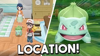 Where To Find Bulbasaur In Pokemon Let