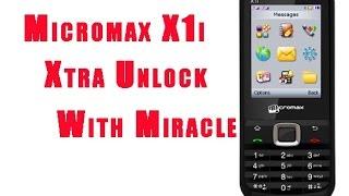 Micromax X1i  Xtra Password Unlock using Miracle