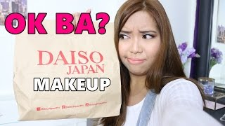 OK BA? Ang Makeup sa Daiso [Tagalog Video] - saytioco