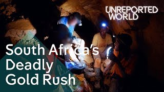 Searching for gold in South Africa