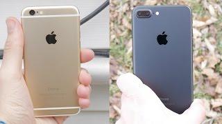 iPhone 6 vs iPhone 7 Plus