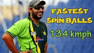 Top 10 Fastest Spin Balls Ever Bowled in Cricket || Spin Vs Pace Bowling