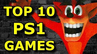 TOP 10 Must Play PS1 Games! (Ft. Petronious)