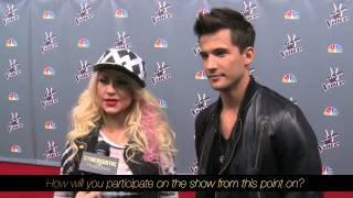 Christina Aguilera & Dez Duron | Elimination | The Voice Season 3 Top 8