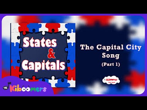 watch States and Capitals Songs for Children | 50 States and Capitals Songs for Kids | The Kiboomers