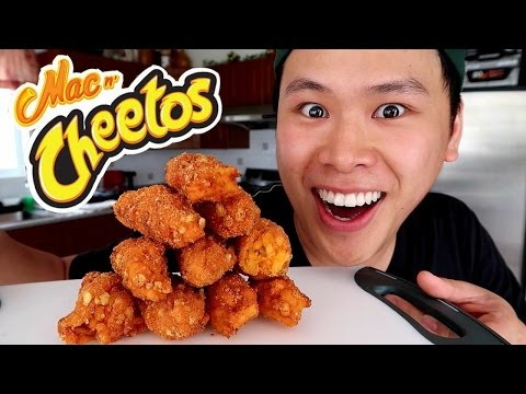 BURGER KING MAC N CHEETOS TASTE TEST