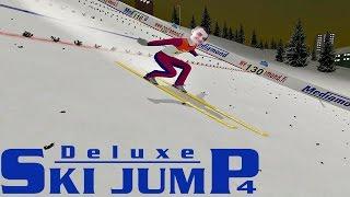 Deluxe Ski Jump 4☆Turniej Czterech Skoczni☆ Wracamy do skakania ㋡