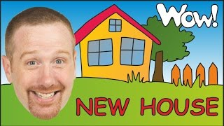 New House and Playground for Kids | EFL English for Children | Steve and Maggie | Wow English TV