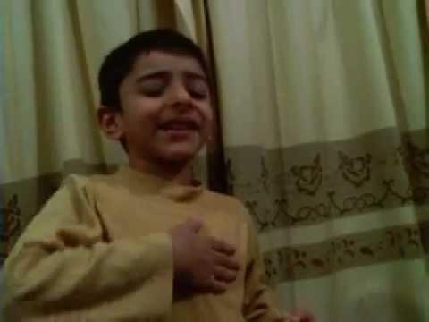 speech on MY TEACHER by 5 year old child FASIH.3gp