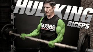 How to Get Big Biceps - GUARANTEED!! (Hulk Arms)