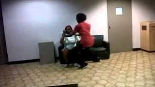 Dee gives ziggy a lap dance