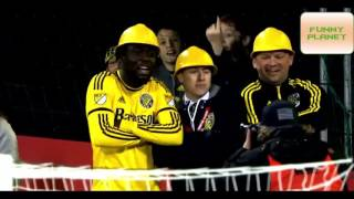 Funny & Crazy Goal Celebrations  2016● Circus ● HD   FUNNY PLANET