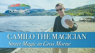 Camilo the Magician - Street Magic in Gros Morne (Old Crow Magazine)