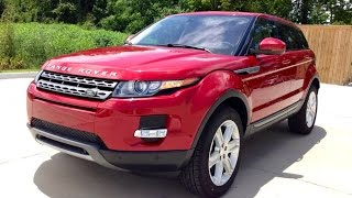 2015 Range Rover Evoque Full Review, Start Up, Exhaust