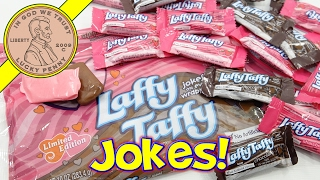 Laffy Taffy Limited Edition Strawberry & Chocolate Jokes On Every Wrapper