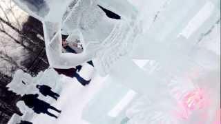 Britney Spears Ice Sculpture