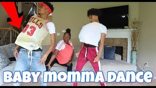BABY MOMMA DANCE CHALLENGE WITH THE BANANA CREW!!! (VERY FUNNY)