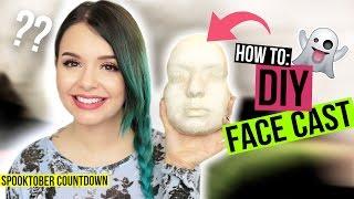 HOW TO: DIY FACE CAST / LIFE CAST - #SpooktoberCountdown