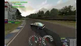 LFS drifting with BMW E34 540I (2)