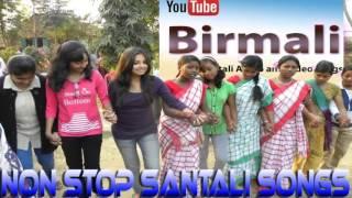 non stop santali songs part 4 @Birmali
