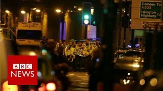 """Finsbury Park Mosque Attack: """"We held him (attacker) to the ground"""" - BBC News"""