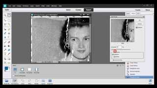 Photoshop Elements Tutorial 02-1 Restoring An Old Photo