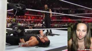 WWE Raw June 2, 2014 Seth Rollins HEEL TURN Live Commentary
