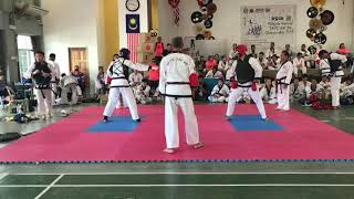 Tang Soo Do National 2018- Sheng Yew Lee vs Muzahid