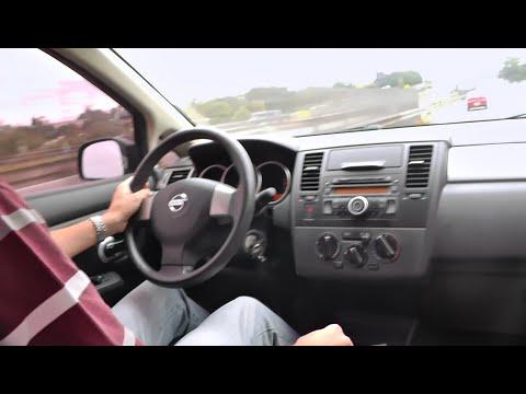 Caçador de Carros Test Drive NISSAN TIIDA 6 marchas manual