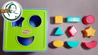 Learn shapes for kids with Shape Sorter Cognitive and Matching Plastic Toy