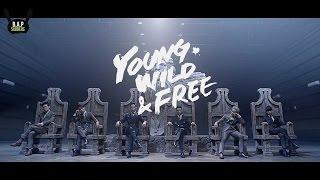 [ENG SUB + LYRICS] B.A.P - Young, Wild & Free MV