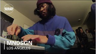 MNDSGN Boiler Room Los Angeles Live Set