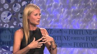 Gwyneth Paltrow Talks Goop and Martha Stewart   Full Interview Fortune MPW
