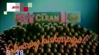 """Mr. Clean Calamansi """"Linis Kuskos-Piga"""", 30's - 1987, Philippines"""