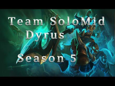 TSM Dyrus Hecarim TOP vs Fiora season 5 Patch 5.15