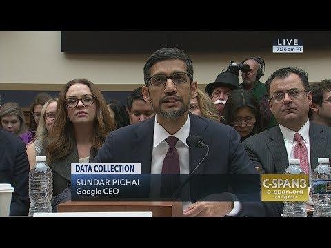 Xxx Mp4 LIVE Google CEO Sundar Pichai Testifies On Data Collection C SPAN 3gp Sex