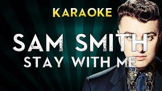 Sam Smith - Stay with me   Karaoke Instrumental Lyrics Cover Sing Along