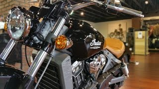 2016 Indian Scout - First Look and Ride