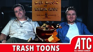 Racist MOLLY MOO-COW & ROBINSON CRUSOE: Trash Toons with Dave Anthony & Gareth Reynolds