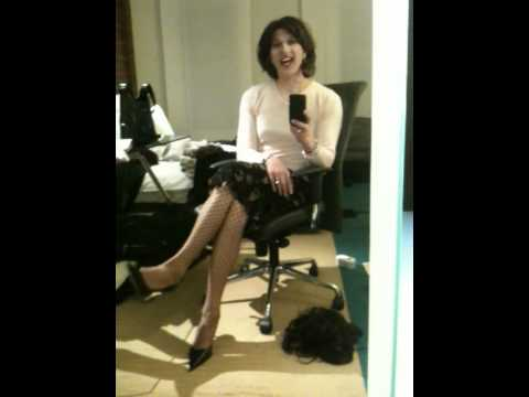 sitting transvestite transgender crossdresser