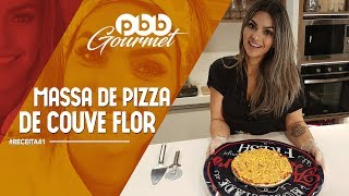 PBB Gourmet #41 - Pizza com Massa de Couve flor